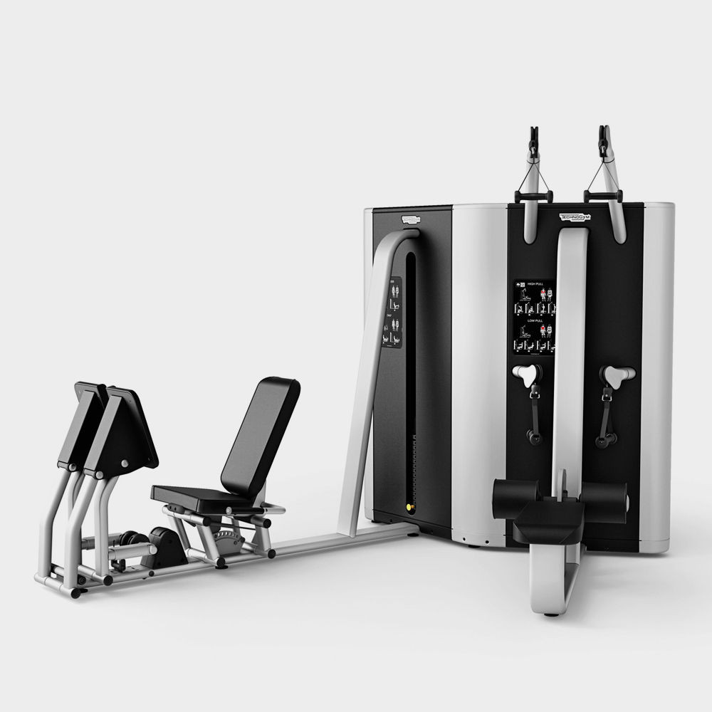 PLURIMA MULTISTATION - HIGH/LOW PULL/LEG PRESS Technogym