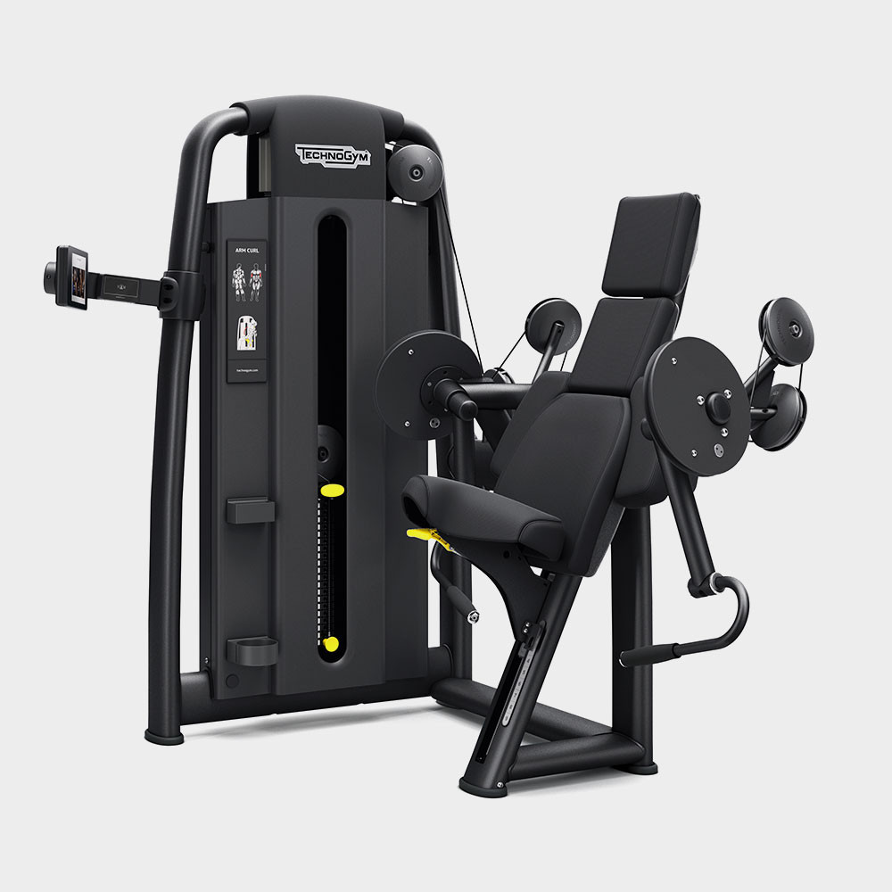 Selection 900 - Arm Curl Technogym